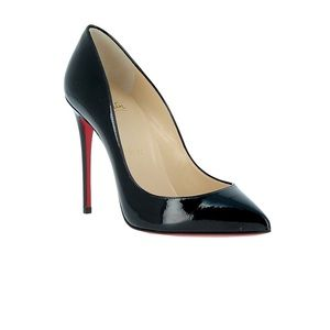 Christian Louboutin Shoes - Christian Louboutin Black Leather Pumps